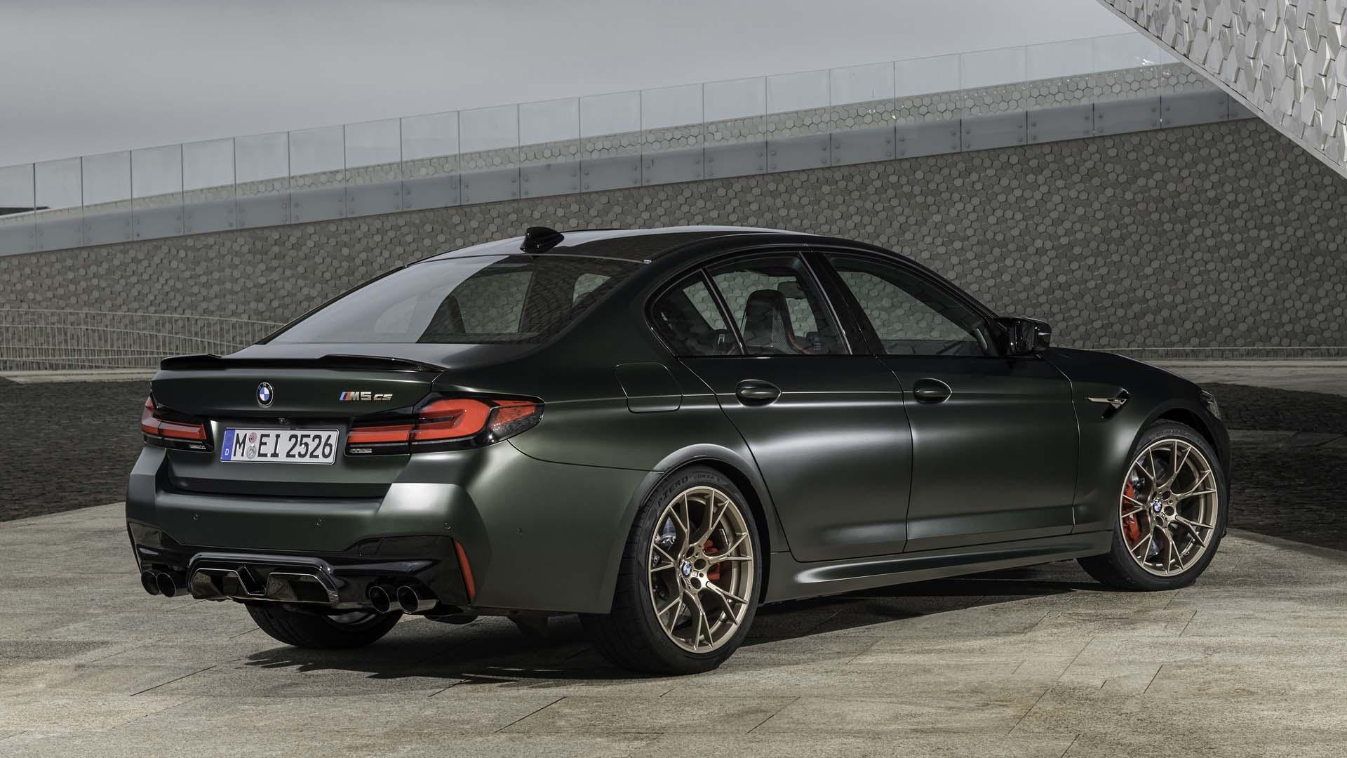BMW M5 CS 2022