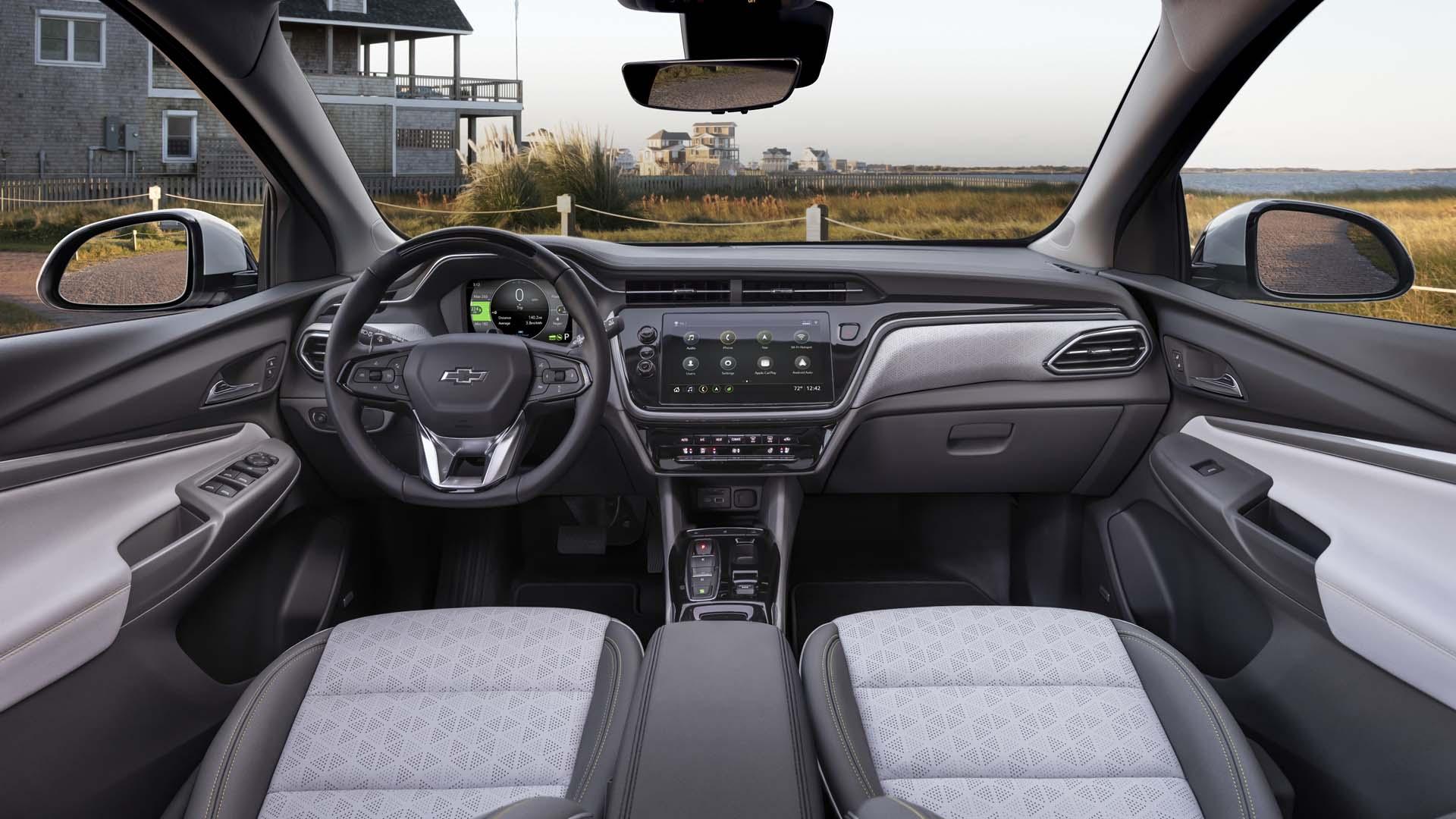 Chevrolet Bolt EUV 2022 Interior