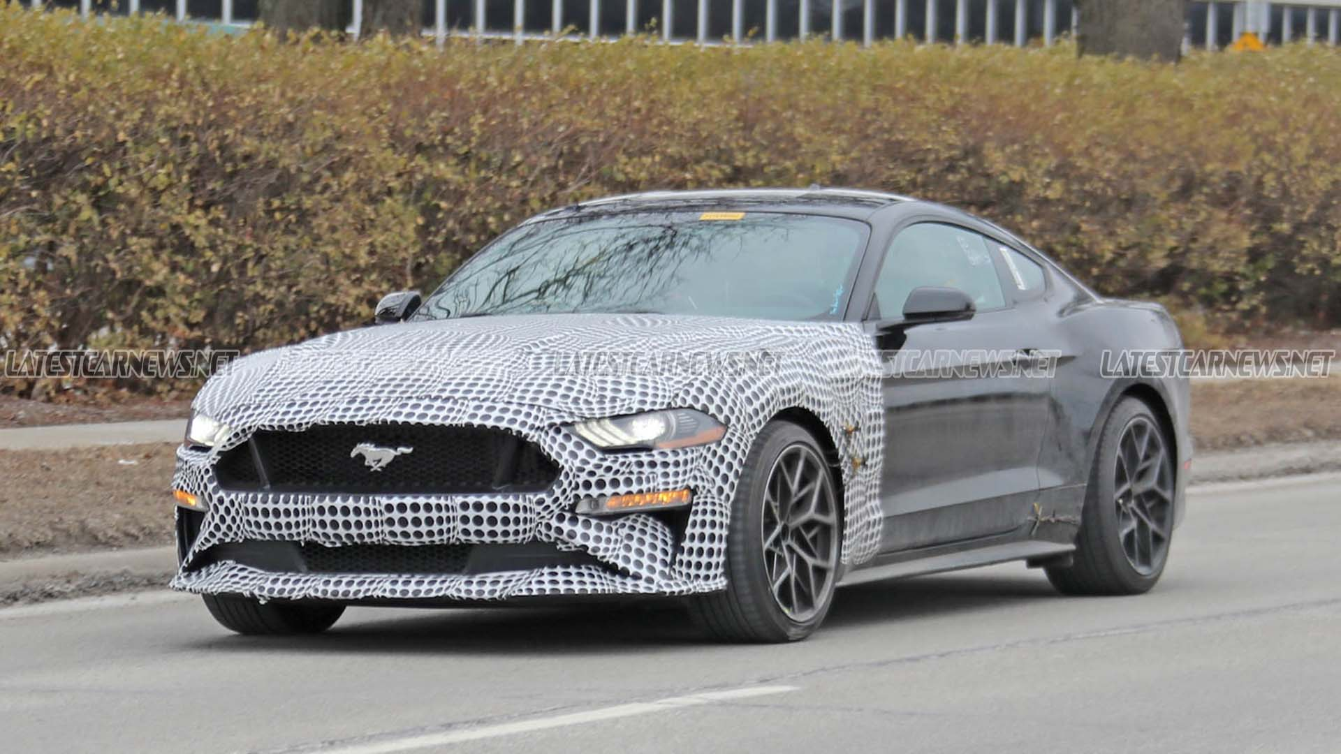 Ford Mustang 2023 Spy