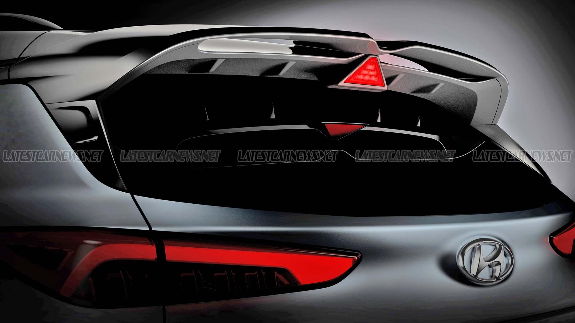 Hyundai Kona N 2022 Rear