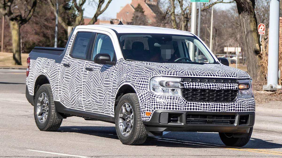 Ford Maverick 2022 Spy Shot