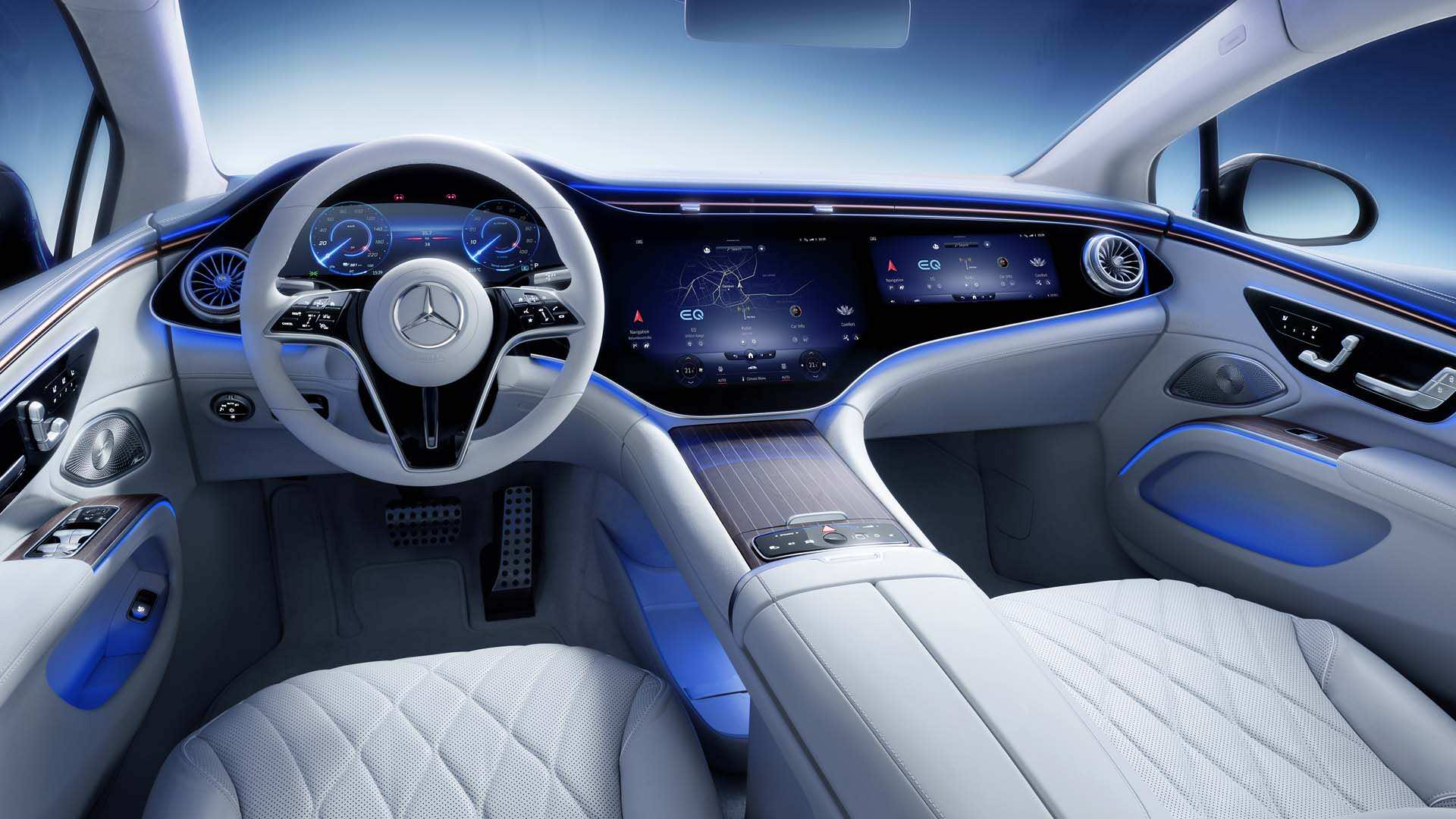 Mercedes EQS 2022 Interior