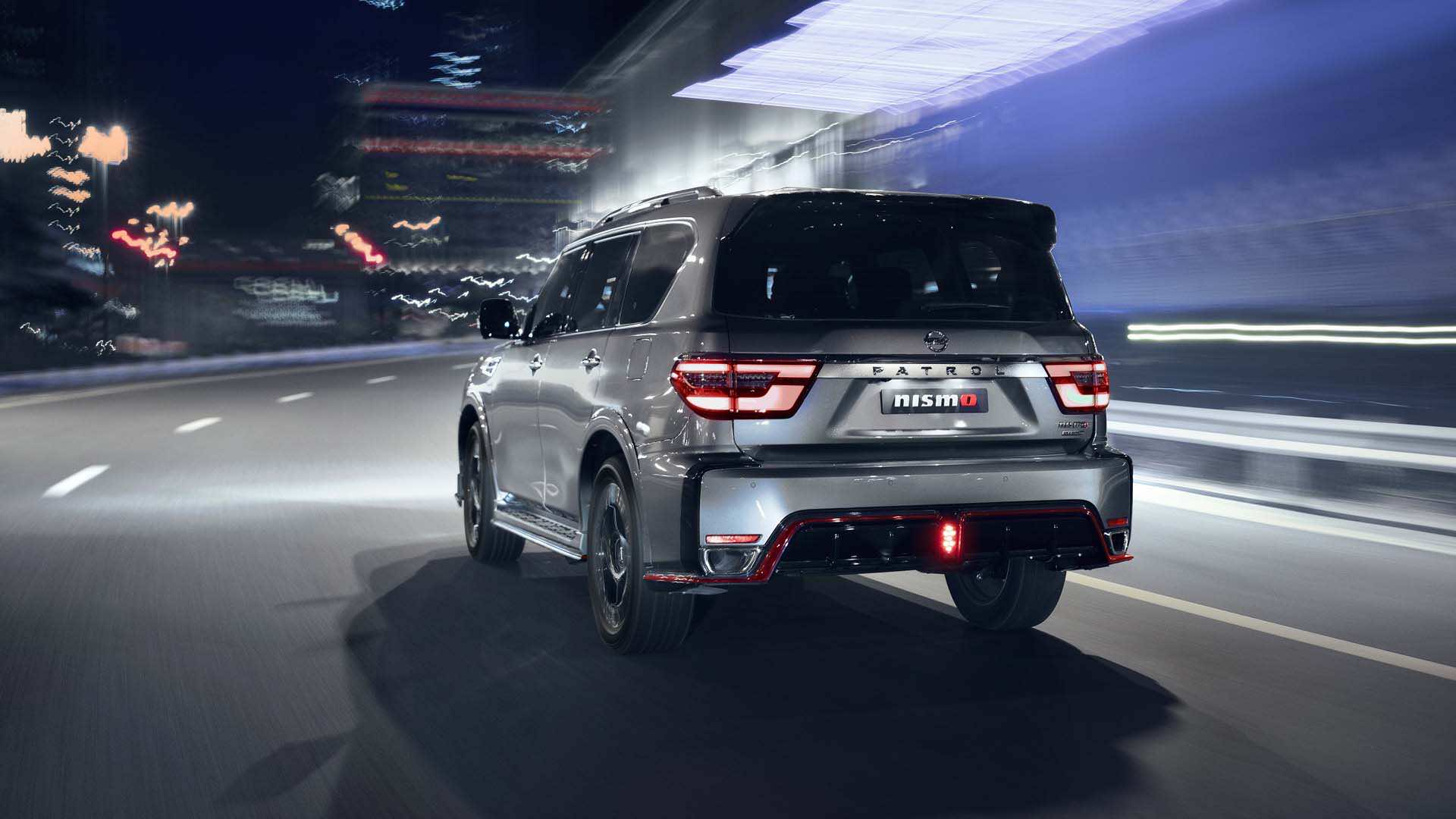 Nissan Patrol  Nismo 2022 back