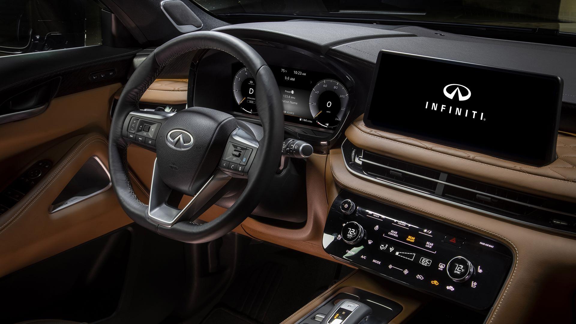 2022 Infiniti QX60 Interior