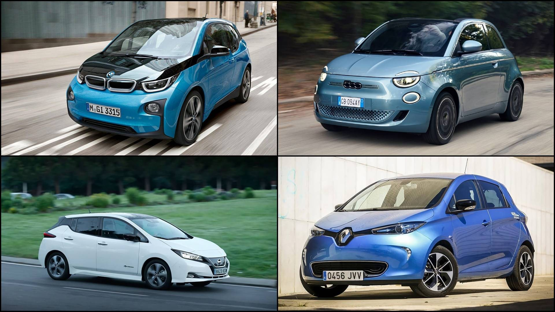 The best electric cars under 20,000 euros