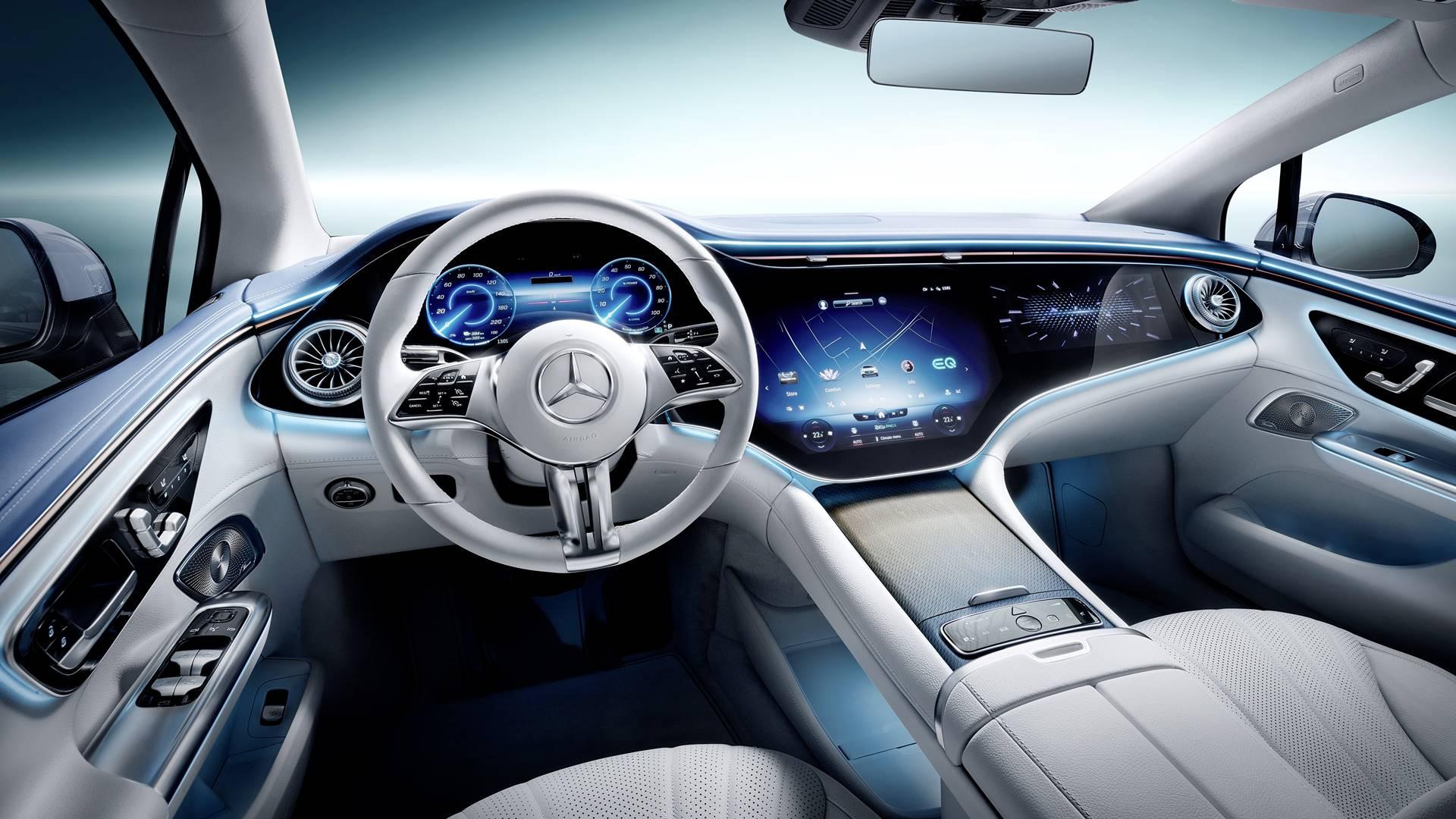 Mercedes EQE Interior